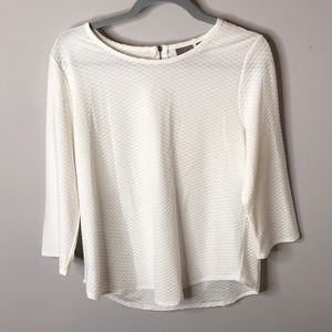 White Easywear by Chico's Sz 1 Top